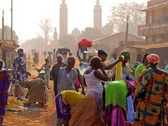 Market in Kedougou #senegal