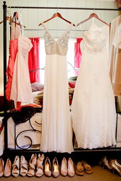love love this bridal gown/sassy reception gown!