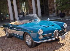 World Of Classic Cars: Alfa Romeo 2000 Spider by Touring 1962 - World Of ...