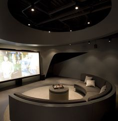 Home Theater Room Ideas. Start by determining the overall theme that will be used for your home theater design. Do you want to have a general cinematic Home Theater Room Design, Home Cinema Room, Home Theater Rooms, Moving Picture Company, Moving House, Home And Deco, Entertainment Room, Modern Interior Design, House Design
