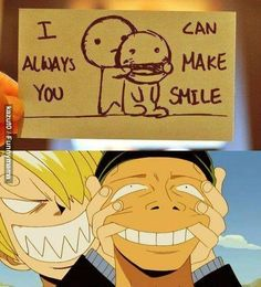 One Piece | Funny Moments | Fandom | Roronoa Zoro | Vinsmoke Sanji | I Can Always Make You Smile                                                                                                                                                     More