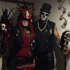 Voodoo Priestess Costume, Voodoo Costume, Voodoo Halloween, Halloween Costumes For Work, Halloween Masquerade, Scary Costumes, Scary Halloween Decorations, Halloween 2015, Halloween Themes