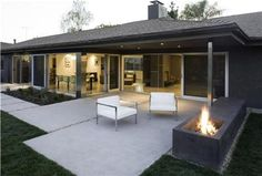 Modern Patio Los Angeles Concrete Patios Modal Design Los Angeles, CA Concrete Patios, Poured Concrete Patio, Concrete Backyard, Concrete Patio Designs, Cement Patio, Modern Backyard, Pergola Designs, Patio Slabs, Concrete Pad