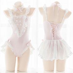 M: Bodysuit Length(with trap L: Bodysuit Length(with trap Lingerie Rosa, Lingerie Bonita, Pink Lingerie, Lingerie Outfits, Pretty Lingerie, Bridal Lingerie, Women Lingerie, Harajuku Fashion, Kawaii Fashion