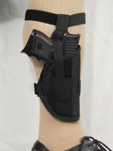 Ankle Holster for Compact, Sub-Compact 9mm 40 45 (#07/1)