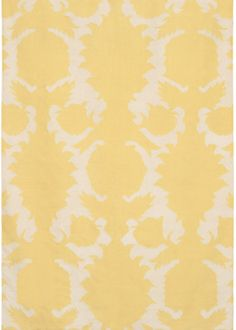 This rug would be the perfect fit for a yellow nursery. #rug #yellow #nursery