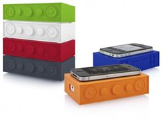 The Blasting Brick amplifies the audio from your digital devices. Place and play your music, no bluetooth or cables are needed! The Blasting Brick is compatible with mobile phones or digital media devices that include an external speaker. As low as $32.63