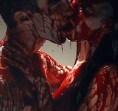 blood, gore, and love image Vampires, Gore Aesthetic, Death Aesthetic, Character Aesthetic, Alluka Zoldyck, Blood Art, Bonnie Parker, Creepy Pictures, Six Feet Under