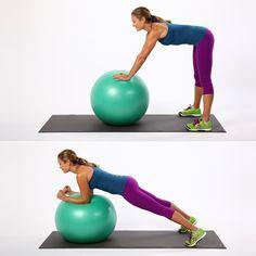 Best Stability Ball Exercises | POPSUGAR Fitness
