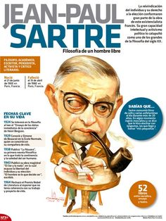 FILOSOFÍA – VYKTHOR´S LIBRARY Jean Paul Sartre, Philosophy Of Science, Human Icon, Teaching Literature, Love Illustration, Lectures, Sociology, Learning Spanish, Book Recommendations