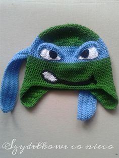 Mützen - Ninja Turtle hat - ein Designerstück von BajkoweSzydelkowo bei DaWanda