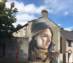 New Street Art by Smug One found in Waterford Ireland VIA @WaterfordWalls graffiti festival  #art #mural #streetart