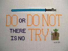 Eye candy: Some Star Wars cross-stitching Cross Stitching, Cross Stitch Embroidery, Embroidery Patterns, Cross Stitch Patterns, Cross Stitch Quotes, Stitch Witchery, Do It Yourself Inspiration, Nerd Crafts, Star Wars