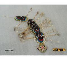 Cerf-volant de la Chine - fait de tissu, bois et carton. #DeLaCollection du @MuseeAvEspace