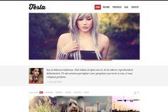 Free WordPress Theme: Tesla #Freebie #WordPress