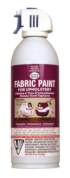 Change the look of an old pillow, give new life to a faded awning, or make a dull rug a fun new hue - the possibilities are endless for you to Spray it New! Simply Spray works great both inside and ou
