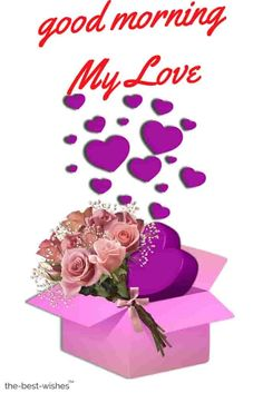 This is the best collection of Good Morning images filled with love to wish your loved ones. These images are sure to make their heart melt. Morning Love Text, Good Morning Wife, Morning Wishes For Her, Romantic Good Morning Messages, Good Morning Quotes For Him, Good Morning Greetings, Good Morning Images, Morning Qoutes, Love Paragraphs For Her