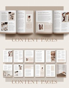 Magazine Page Layouts, Magazine Layout Design, Graphisches Design, Blogger Templates, Design Templates, Marca Personal, Flyer, Magazine Template, Grafik Design