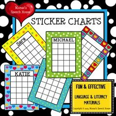 sticker colorful charts can be used throughout the year. There is also a black & white version so your students can color the heart chart. I hope you enjoy these! Classroom Reward System, Reward System For Kids, Kids Rewards, Classroom Behavior, Preschool Classroom, Classroom Management, Behavior Management, Kindergarten Fun, Preschool Curriculum