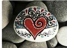 Rocks#painting#heart