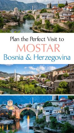 How to have the best experience in Mostar, Bosnia & Herzegovina. Where to get the best views of Stari Most (the old bridge), best places to eat, and where to stay. Mostar is like a fairytale. Travel Europe Cheap, European Travel, Traveling Europe, Traveling Tips, Travelling, Cool Places To Visit, Places To Go, Mostar Bosnia, Visit Croatia