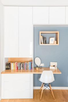 15 Fantastic Small Bedroom Desk Designs For Small Bedroom Ideas - #smallbedroom