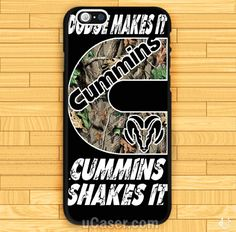 Cummins Dodge MAke it iPhone Cases Case