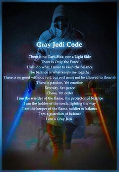 .The Gray Jedi Code.