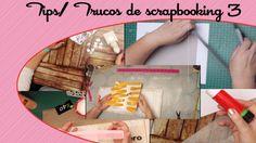 Trucos tips de scrapbooking y manualidades 3 - YouTube