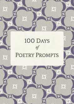 Poetry Prompts Ebook
