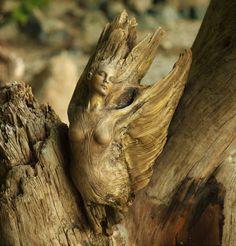 Driftwood Sculptures By Debra Bernier