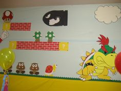 Super Mario Bros. party ideas