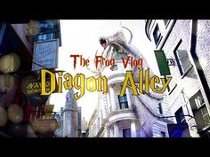 The Frog Vlog: We Visit Harry Potter Diagon Alley | PLUS Giveaway Winners - YouTube