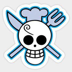 One Piece Sanji Pirates Logo