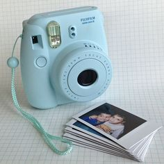 I want this so much!! :))) ♥ in pastel blue, yellow or pink color! FUJIFILM INSTAX MINI 8! ♥ Santa, please!!!