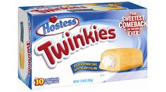 Twinkies are making a come back!