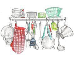 Utensils illustration by Emma Kelly: http://www.handsomefrank.com/illustrators/emma-kelly/