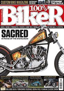 100 Biker Bike Magazine Magazine Digital Text