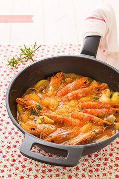 Cocina – Recetas y Consejos Healthy Recipes, Fish Recipes, Seafood Recipes, Cooking Recipes, Spanish Dishes, Slow Food, Mediterranean Recipes, Fish And Seafood, Food Inspiration