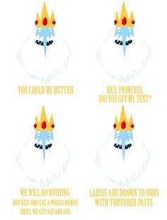 Ice King valentines