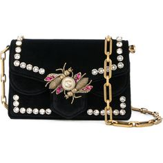 Gucci Broadway mini bag (11 465 PLN) ❤ liked on Polyvore featuring bags, handbags, shoulder bags, black, mini purse, gucci handbags, structured purse, structured handbags and gucci purse