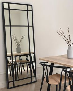 The best Ikea hack ever 🙌🏻 📸 Ikea Mirror Hack, Diy Mirror, Best Ikea, Ikea Hackers, Ikea Furniture Hacks, Home Decor Paintings, Indian Home Decor, Home Decor Bedroom, Industrial Furniture