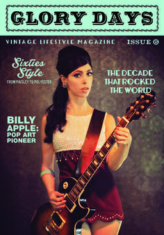 Issue 6 covergirl Labretta Suede has the sass of all the girl bands rolled into 1 Sixties Fashion, Girl Bands, Covergirl, Pop Art, Magazine, Club, Day, Life, Guitars
