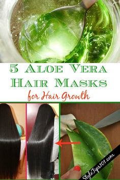 These 5 aloe vera hair mask recipes for hair growth are super simple to make and will encourage fast and healthy hair growth. Aloe Vera Hair Growth, Aloe Vera Hair Mask, Aloe Vera For Hair, Five Minute Hairstyles, Makeup Jobs, How To Apply Lipstick, Best Beauty Tips, Beauty Hacks, Beauty Secrets