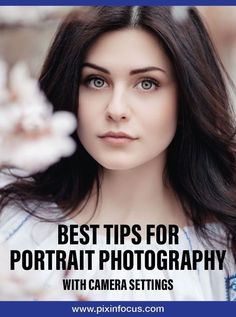 The Best Tips for Portrait Photography (with Camera Settings) Learn the fundamental settings for your camera and best tips in order to improve your portrait photography and take it to the next level. Photography Settings, Creative Portrait Photography, Photography Basics, Photography Tips For Beginners, Photography Lessons, Creative Portraits, Best Portraits, Photography Tutorials, Digital Photography
