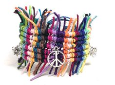 Hemp Bracelet Gypsy Boho by HempaliciousWishes on Etsy