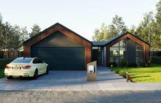 Torere - Green Homes Garage Design, Exterior Design, Modern Barn House, New Zealand Houses, House Ideas, Facade House, House Facades, Modern Architecture, New Zealand Architecture
