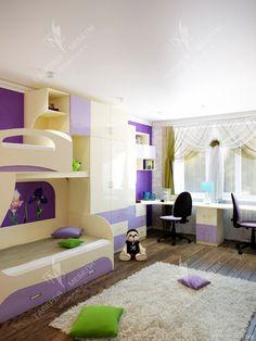 Детские для Двух Девочек - | Галерея Мебели - Детская мебель