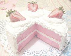 𝐷-𝑑𝑎𝑑𝑑𝑦~ ♡ # Novela Juvenil # amreading # books # wattpad Baby Pink Aesthetic, Aesthetic Food, Cute Food, Yummy Food, Kawaii Dessert, Pink Foods, Cute Desserts, Cute Cakes, Cute Pink