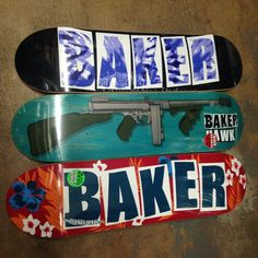 """Baker decks 'bout to bang y'all over the head! (8.0"""", 8.125"""", 8.25"""")"""